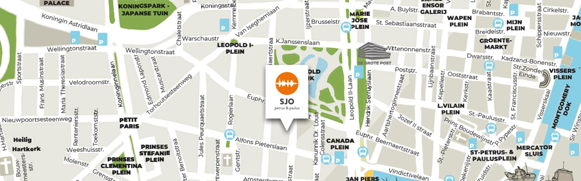 SJO-Troef-Centrale-ligging